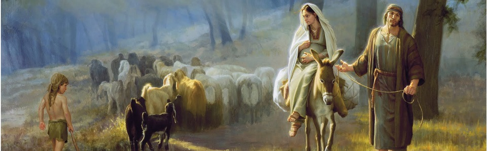 We´re on the road to Bethlehem.