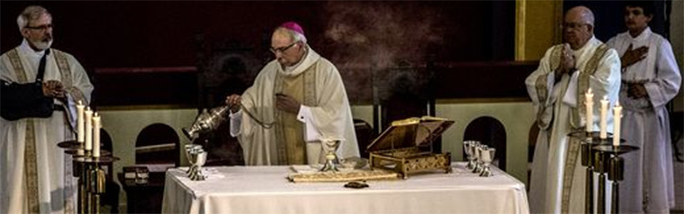 Bishop Campbell celebrates 150th Anniversary Mass