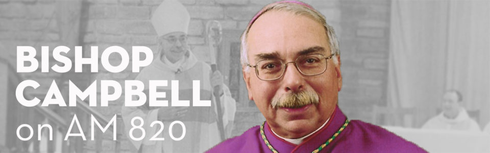 Reflections from the Bishop