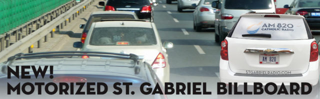 New on St. Gabriel Radio