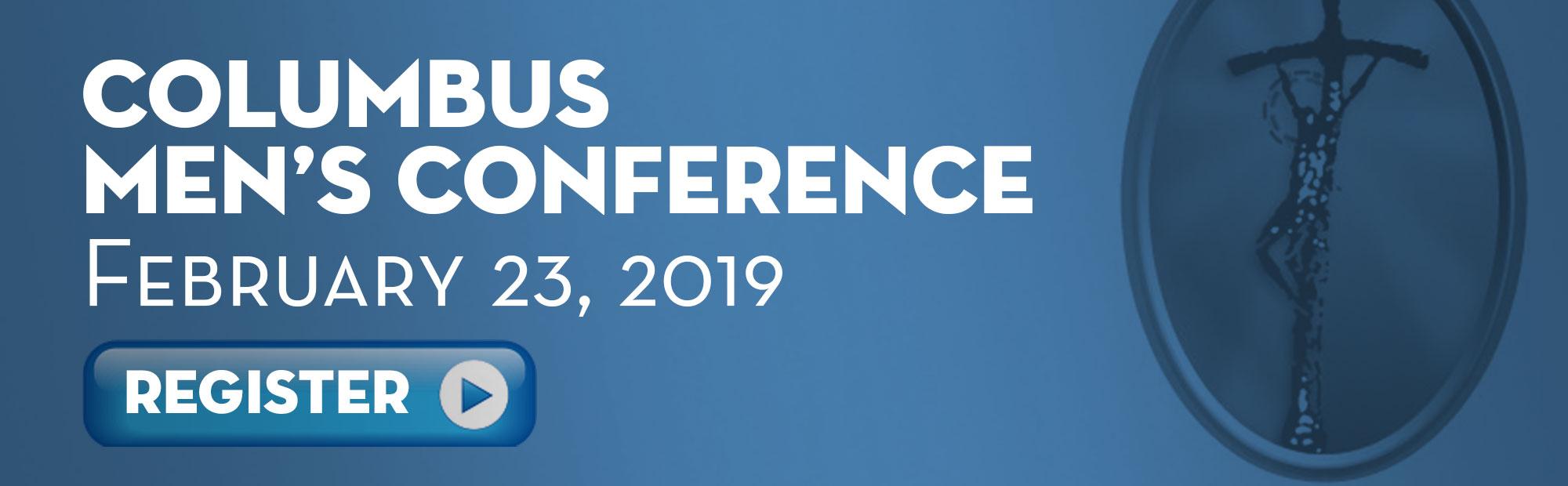 Register for the Columbus Men's Conference