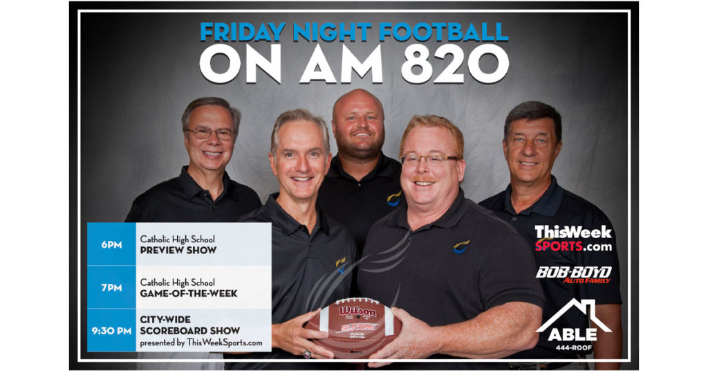 Football on AM 820