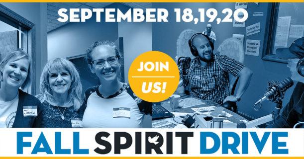 2019 Fall Spirit Drive Schedule