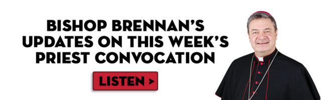 Bishop Brennan's Updates on the Priest Convocation