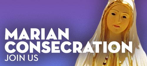 Marian Consecration Prayers Button