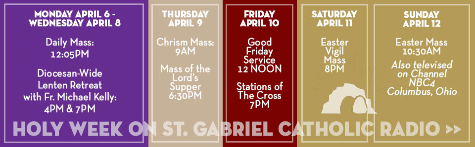 Holy Week Lenten Retreat and Masses