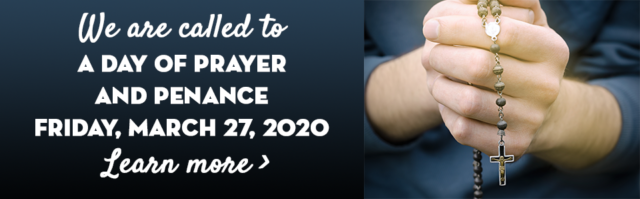 Day of Prayer and Penance