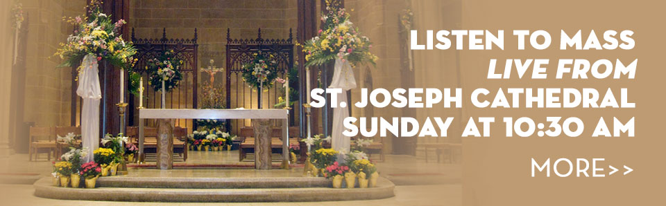 Sunday Mass From St Joseph Cathedral