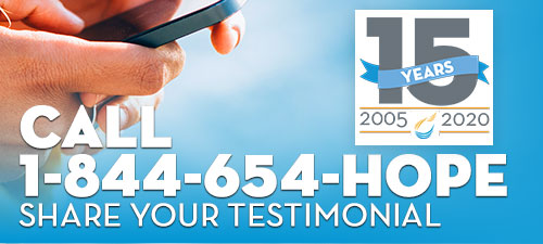 Phone number to share your testimonial