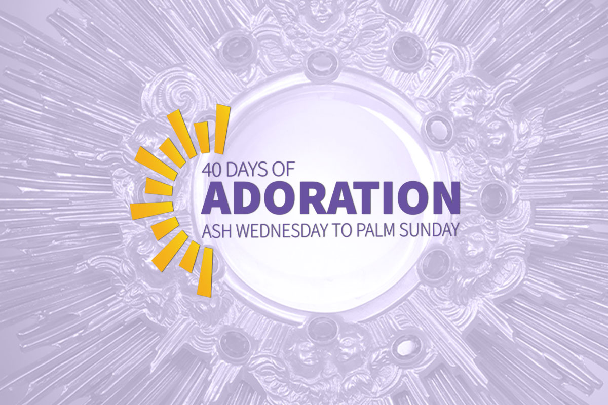40 Days of Adoration in the Columbus Diocese
