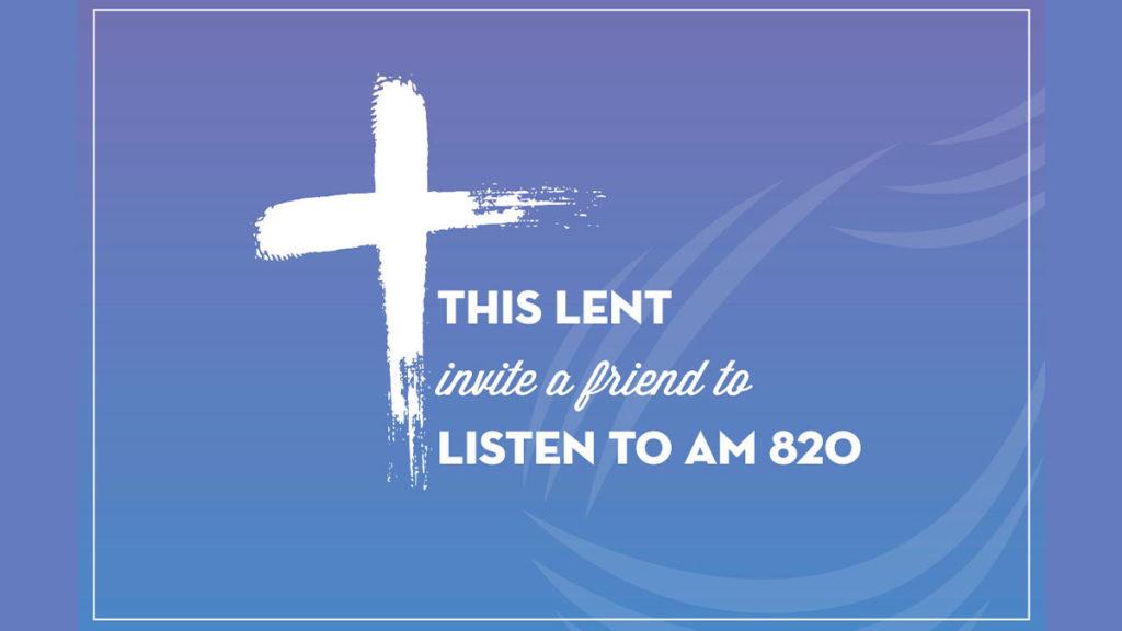 Invite a friend to listen to St Gabriel Radio this Lent