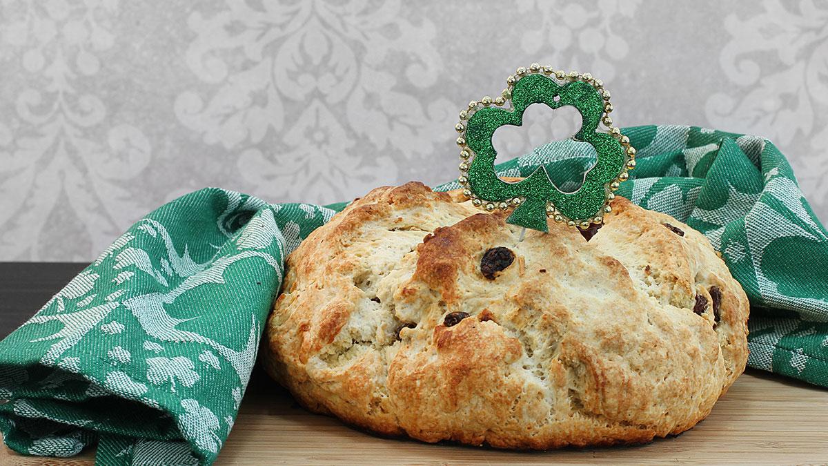 Irish Soda Bread to Honor St Patrick in March