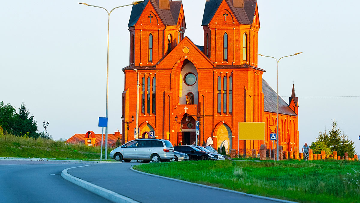 Catholic Church by the Road