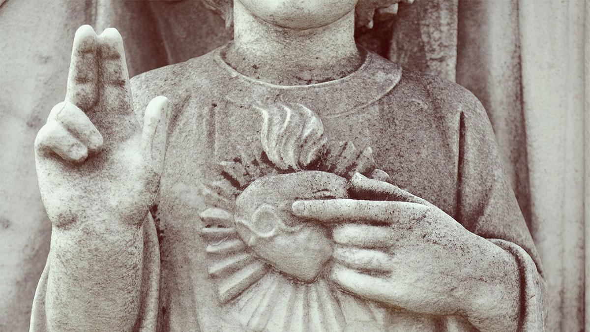 Statue of Jesus Sacred Heart