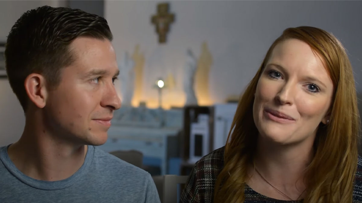 Couple talks about how to pray the Rosary with your kids